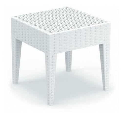 (Compamia Miami Square Resin Side Table (18
