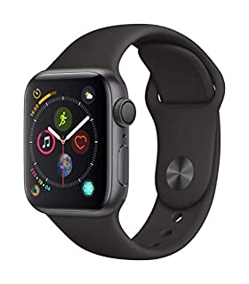 AppleWatch Series4 (GPS, 40mm) - Space Gray Aluminium Case with Black Sport Band (B07HDGH3PV) | Amazon price tracker / tracking, Amazon price history charts, Amazon price watches, Amazon price drop alerts