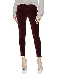 Women's Icon Velvet Midrise Skinny Ankle Jean