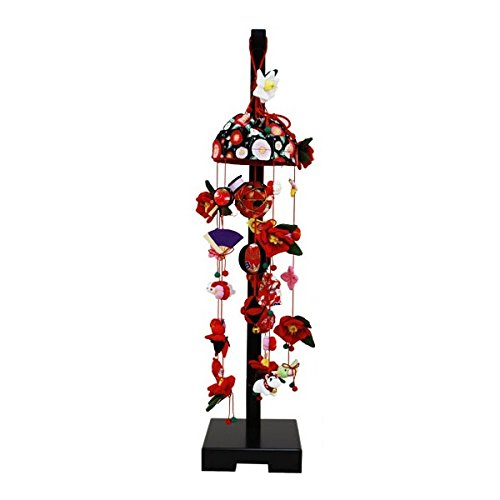 吊るし飾り【椿】飾り台セット [小] スタンド付き【sb3-tbk-s】   B07NNYWXLM