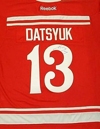 a86cc3302a9 Signed Pavel Datsyuk Jersey - 2014 Winter Classic Premier - Autographed NHL  Jerseys