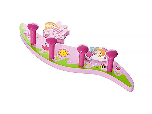 Kids Fairy Themed Home Decor Coat Hooks Wall Hook for Girls Bedroom or Nursery