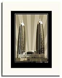 Photo of Damac Tower-Sepia No Text F05-M (A2)