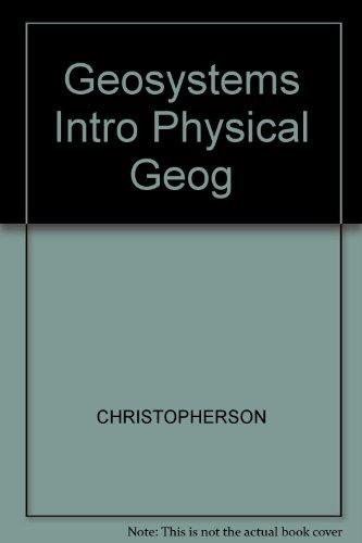 Geosystems Intro Physical Geog