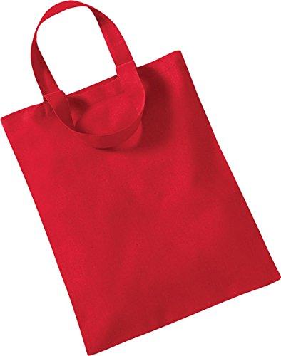 Westford Mill Aufbewahrung Shopper Handtasche Mini Tasche für Life One Größe Rot - Rot