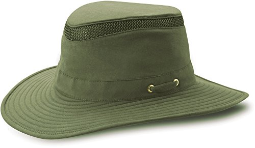 Tilley Hats T4MO-1 Women's Hikers Hat, Olive - 7-5/8 (Tilley Hat Women)