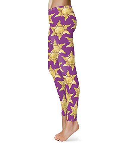 Queen of Cases - Legging de sport - Femme violet violet taille unique