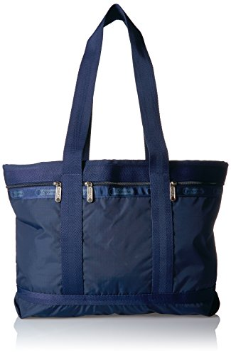 - LeSportsac Classic Medium Travel Tote, Navy