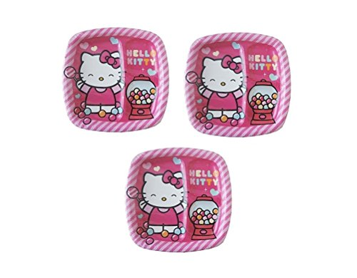 Hello Kitty 2-Section Divided Birthday Party 9