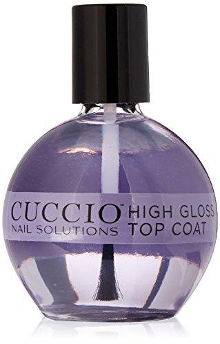 Cuccio High Gloss Top Coat, 2.5 Ounce