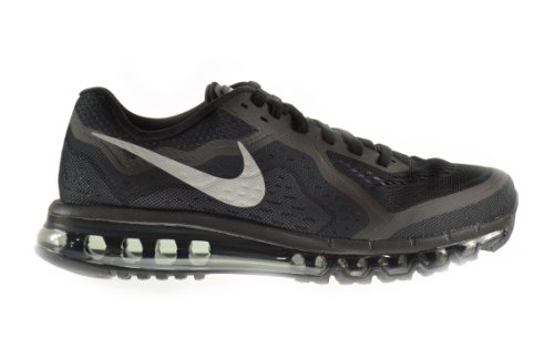 Nike Air Max 2014 Men's Shoes Black/Reflect Silver-Anthracite-Dark Grey 621077-001 (8 D(M) US)