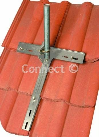 NEW TV Aerial Tile /& Slate Clamp UK SELLER FREEPOST
