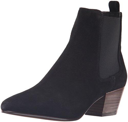 Sam Bootie Ankle Reesa Edelman Black Suede Women's rOIn8wrxWH
