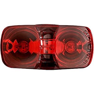 Optronics MC42RS Red 2 Bulb Bullseye Clrnc/Mrkr: Automotive