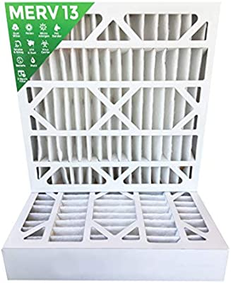 20x20x4 MERV 13 AC Furnace 4 Inch Air Filters 6 Pack