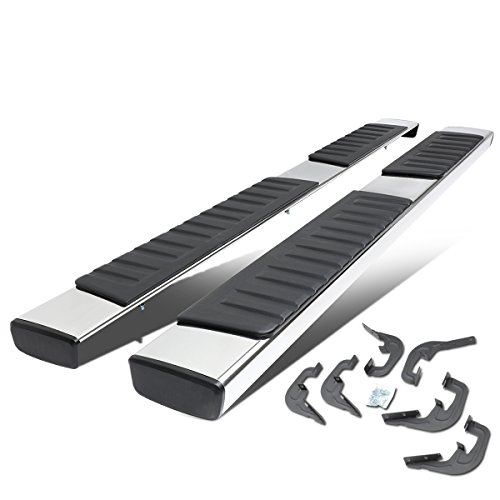 For Silverado/GMC Sierra Extended Cab 6 inches Stainless Steel OE Style Side Step Nerf Bar Running Board ()
