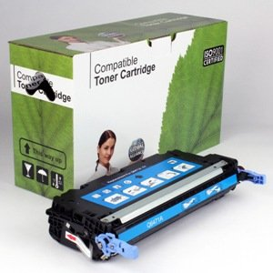 Inkcycle Compatible Toner Cartridge Replacement for HP 502A Q6471A 3600 3600N 3600DN ( Cyan , 1 pk ) - Hp C4193a Compatible Toner