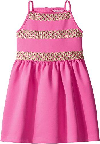 Lilly Pulitzer Kids Baby Girl's Elize Dress (Toddler/Little Kids/Big Kids) Raz Berry Medium