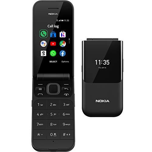 Nokia 2720 Flip Klaptelefoon – Gebruiksvriendelijk, Grote Knoppen en Tekst – Voorzien van 4G Internet – Lange…