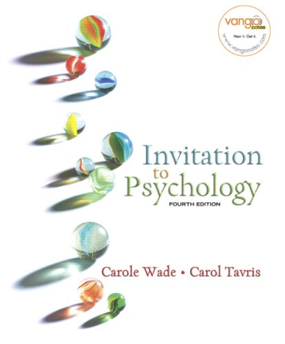Invitation to Psychology (4th Edition) (MyPsychLab Series)