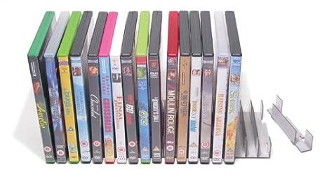 Estanteria de Almacenamiento de DVD - organizador modular de DVD (capacidad de 40)