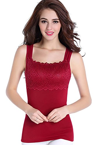 Besporter - Chaleco - para mujer rojo