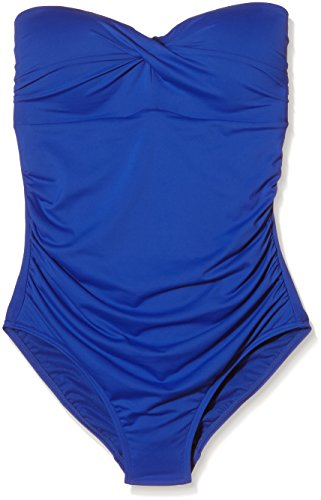 Moontide Twist Freedom Fuller Cup Twist Suit, Baño Para Mujer Azul (Electric Blue)