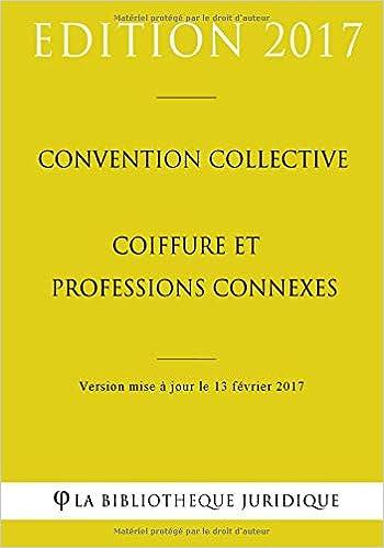 Amazonfr Convention Collective Coiffure Et Professions