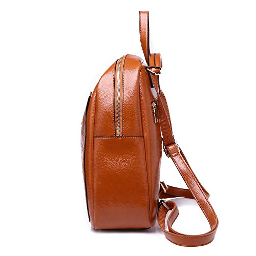 Shoulder Fashion Girl Bag Women Black Waterproof School Leather Pu 1 Laptop 2 Notebooks Backpacks Rucksacks Style C8Sn4qCWr