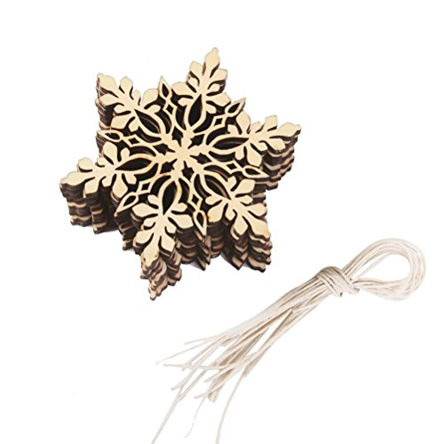 Hexagonal Snowflake Christmas Decorations Decoration