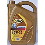 Golden Horse 0W20 Full Synthetic Engine Oil, 5 Litres