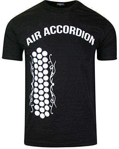 ShirtBANC Original Mexican American Inspired Mens Shirts (Air Accordion, S)