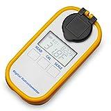 AMTAST Digital Coolant Refractometer for Car Antifreeze Urea Tester Hand-Held Anti Freeze Refractometer Antifreezing Solution Cleaner