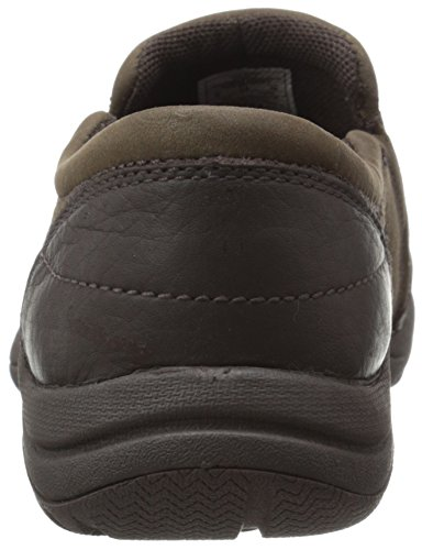 Merrell Petromus Moc Resbalón-en el zapato Charcoal Brown
