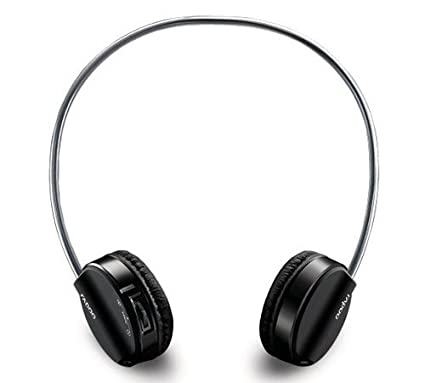 0271dca9484 Amazon.in: Buy Rapoo Bluetooth Stereo Fashion Headset H6020 (Black) Online  at Low Prices in India | Rapoo Reviews & Ratings