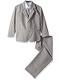 Formal Suit Set Silver for Boys From Baby to Teen