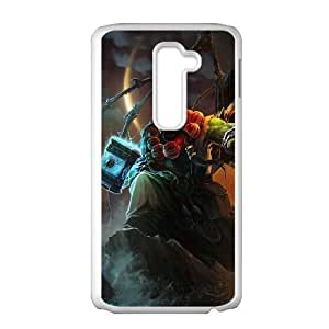 LG G2 White phone case World of Warcraft Thrall WOW8658168