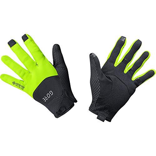 GORE C5 Handschuhe GORE-TEX INFINIUM, 5, Schwarz/Neon-Gelb