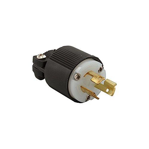 Eaton CWL615P 15 Amp 250V L6-15 Safety Grip Plug, Black & White by Eaton (Image #2)
