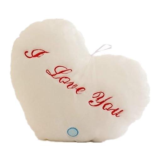 BININBOX I Love You con forma de corazón brillante LED ...