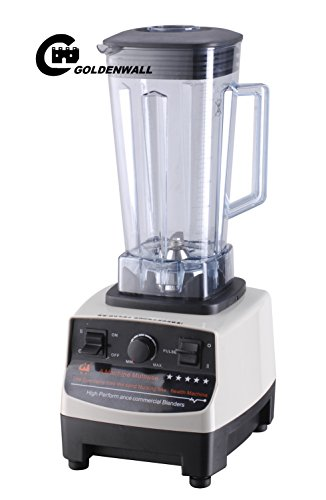 2L 12000W Commercial professional power blender vegetable / fruit squeezers & Reamers Sand ice machine / Soymilk Juicer maker juice extractor for home or milk tea shop 25000R/min by CGOLDENWALL (Image #1)
