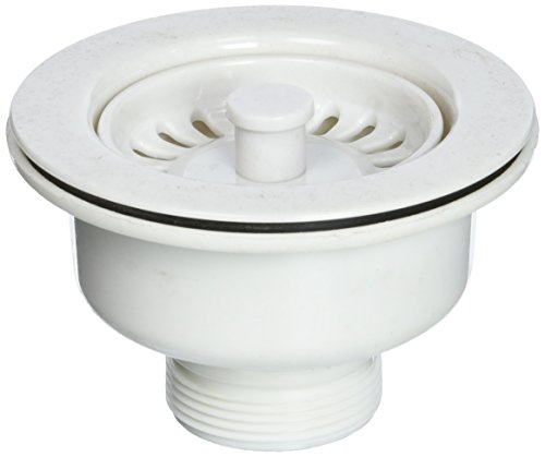 Astracast A35STWRNUS Basket Strainer Waste, Alpine White