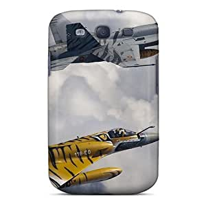 New ZyyGo3693LsmBy F18 Mirage In Animal Stripes PC Cover Case For Galaxy S3