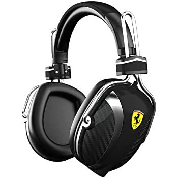 Ferrari AAV-2LFH005K Scuderia P200 On-Ear Headphones - Black (Discontinued by Manufacturer)