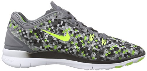 Women Training 0 5 Nike Shoe Free 5 Women's Volt US Grey Prt Tr Black Fit Cool qvt84wx