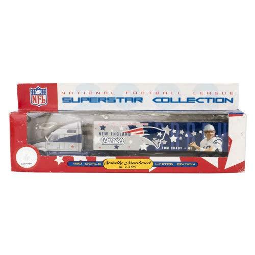 ペイトリオッツ NFL トムブレイディ ダイ キャスト トラクター トレイラー ミニカー - [並行輸入品]   B07JXS2SSP, インテリア雑貨Cute a4fc2f4f