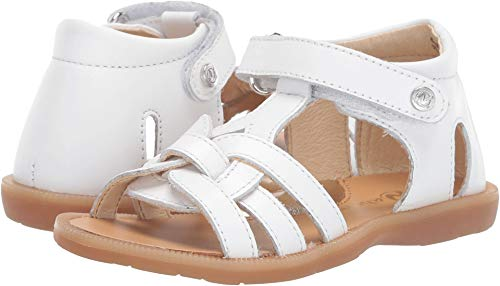 Naturino Baby Girl's Opale SS19 (Toddler/Little Kid) White 28 M EU
