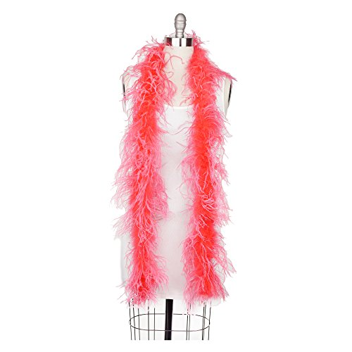 Zucker Feather (TM) - Ostrich Boas Solid Colors Coral (Turkey 566)
