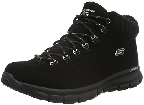 bbk Synergy Nights Botas Skechers Mujer winter Negro Para 0Aqx4H