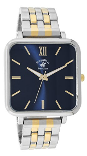- Beverly Hills Polo Club Two-Tone Square Watch (Model: 53983)
